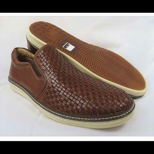 "Johnston & Murphy ""McGuffey"" Woven Leather Shoes"